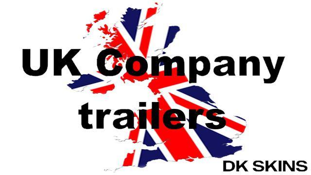 ETS2 - UK Company Trailer Pack V1.0 (1.39.x)