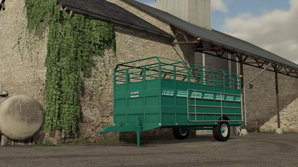 FS19 - Bruneau HSRB5390 Trailer V1.1