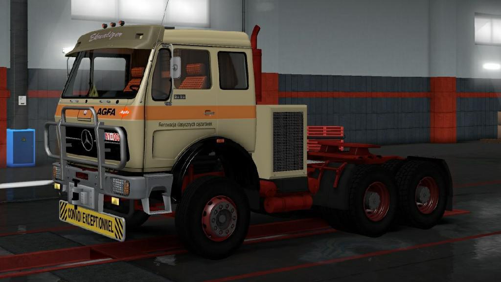 ETS2 - Mercedes 1632 NG Truck V29.11.19 (1.35+)