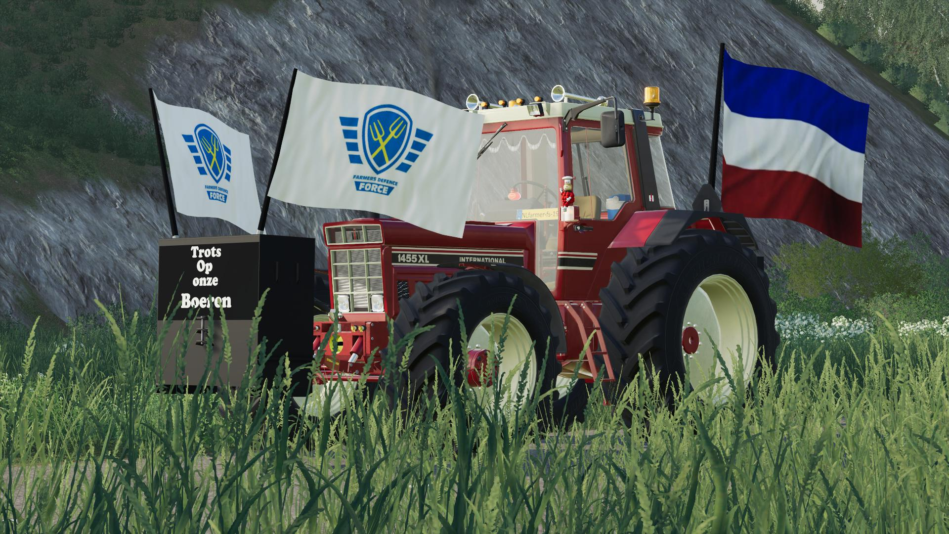 FS19 - Boeren Protest Vlaggen V1.0