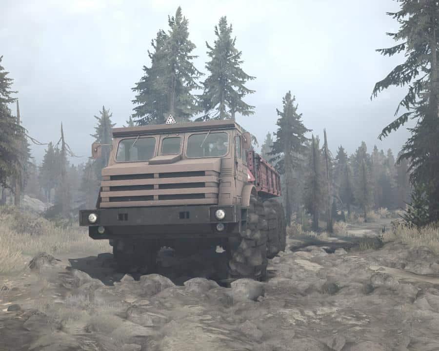 Spintires:Mudrunner - MoAZ-74111 Truck V1.0