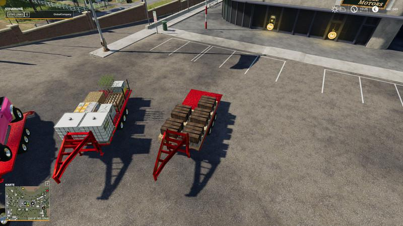 FS19 - 2014 Pickup with Semi-Trailer and Autoload V1.0