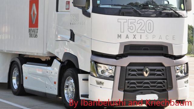 ETS2 - Renault T520 Real Sound V1.0 (1.36.x)