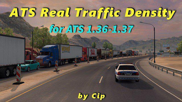 ATS - Real Traffic Density V1.37.c