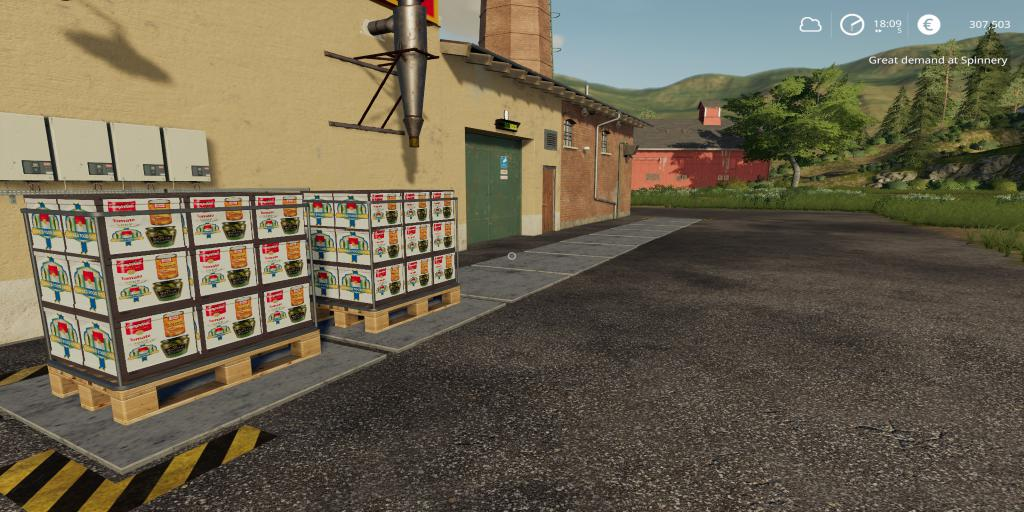 FS19 - Placeable Caned Production V1.0