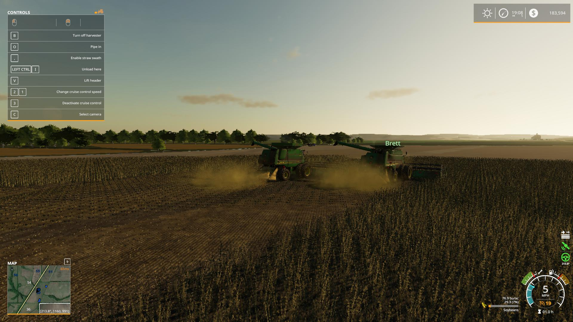 FS19 - 70 STS Combine Series V2.0
