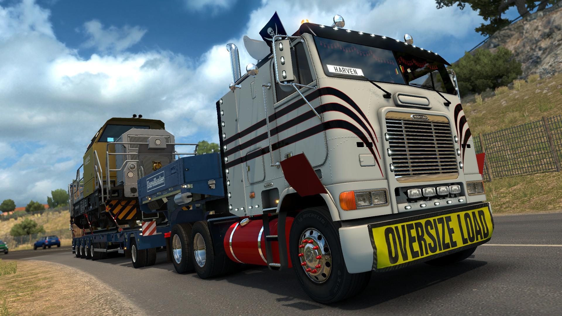 ETS2 - Freightliner FLB Truck V2.0.8 (1.35+)