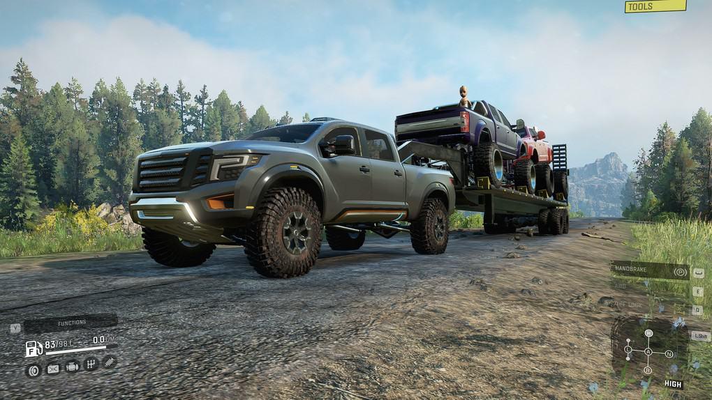 SnowRunner - Truckster V1.0