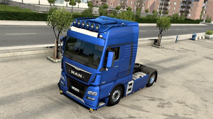 ETS2 - Man Tgx E6 2015 Truck V1.1 (1.40.x)