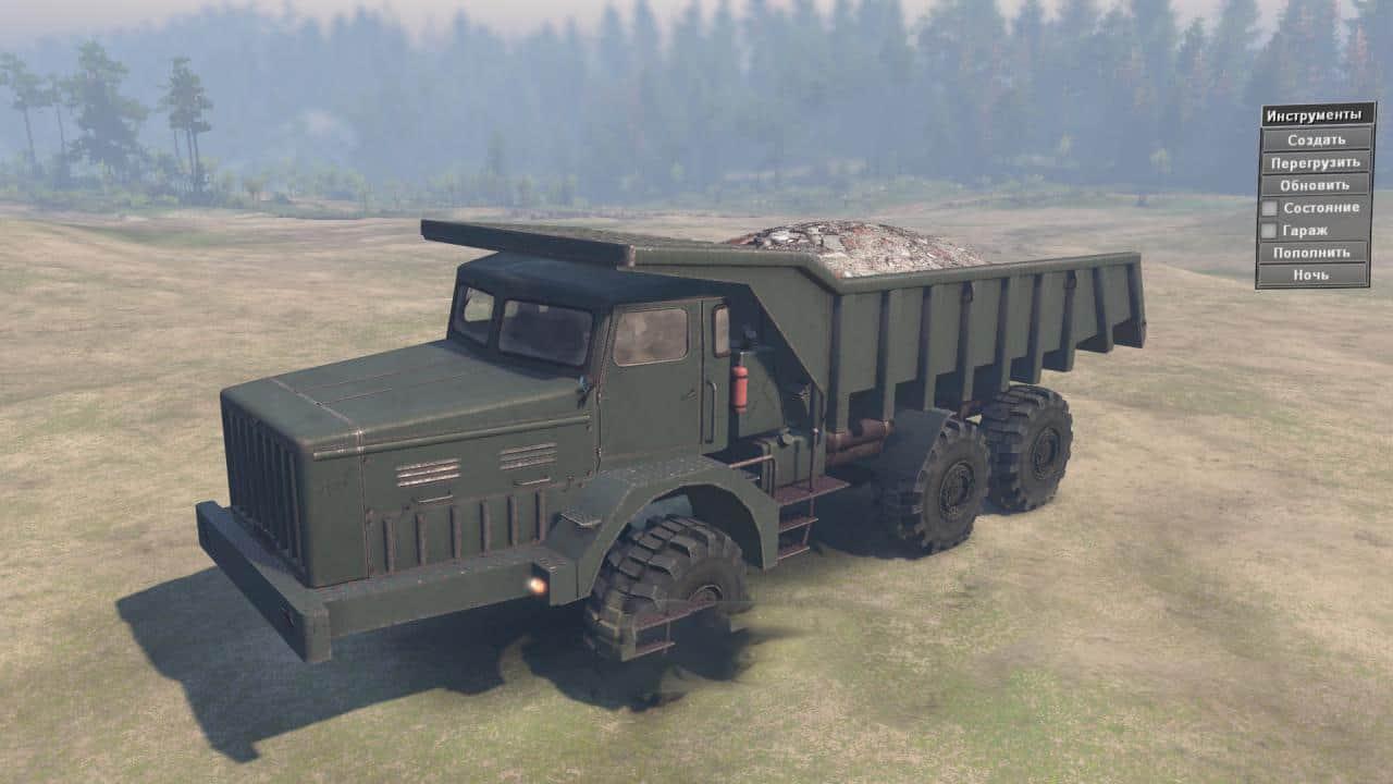 Spintires - Maz 530 Truck V1