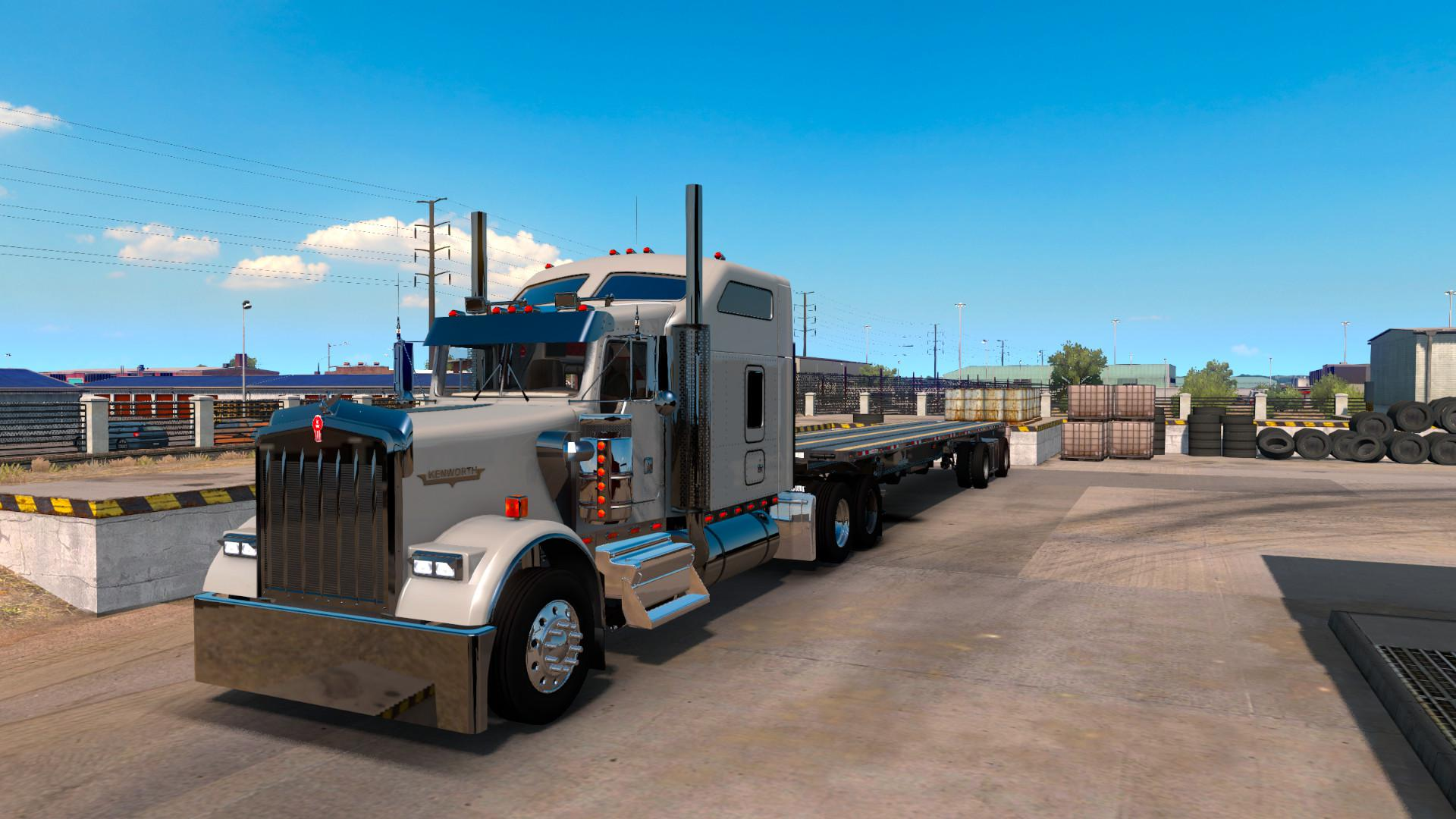 ATS - Kenworth W900 By Slava1 Updated (1.38.x)