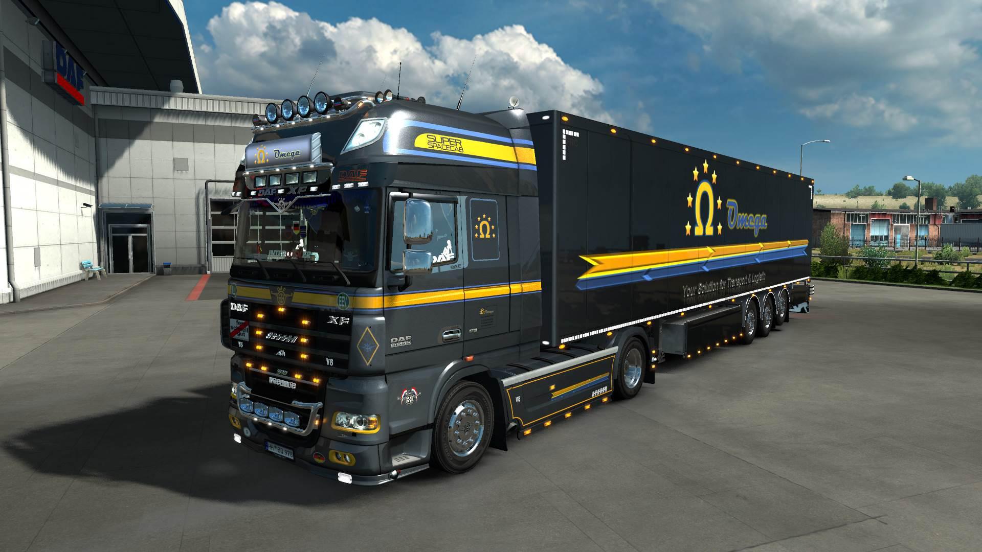 ETS2 - Omega RD Logistic Design V3.0 (1.36.x)