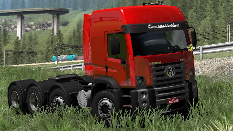 ETS2 - Volkswagen Constellation 8x4 Truck (1.38.x)