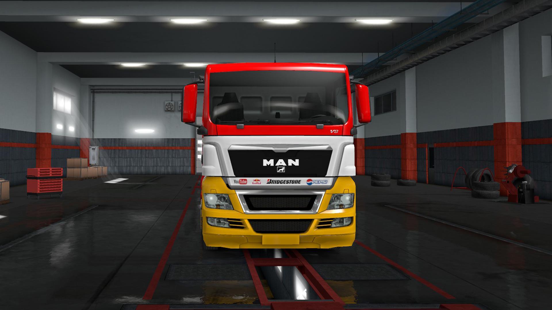 ETS2 - Man Racing Edition V1.0 (1.36.x)
