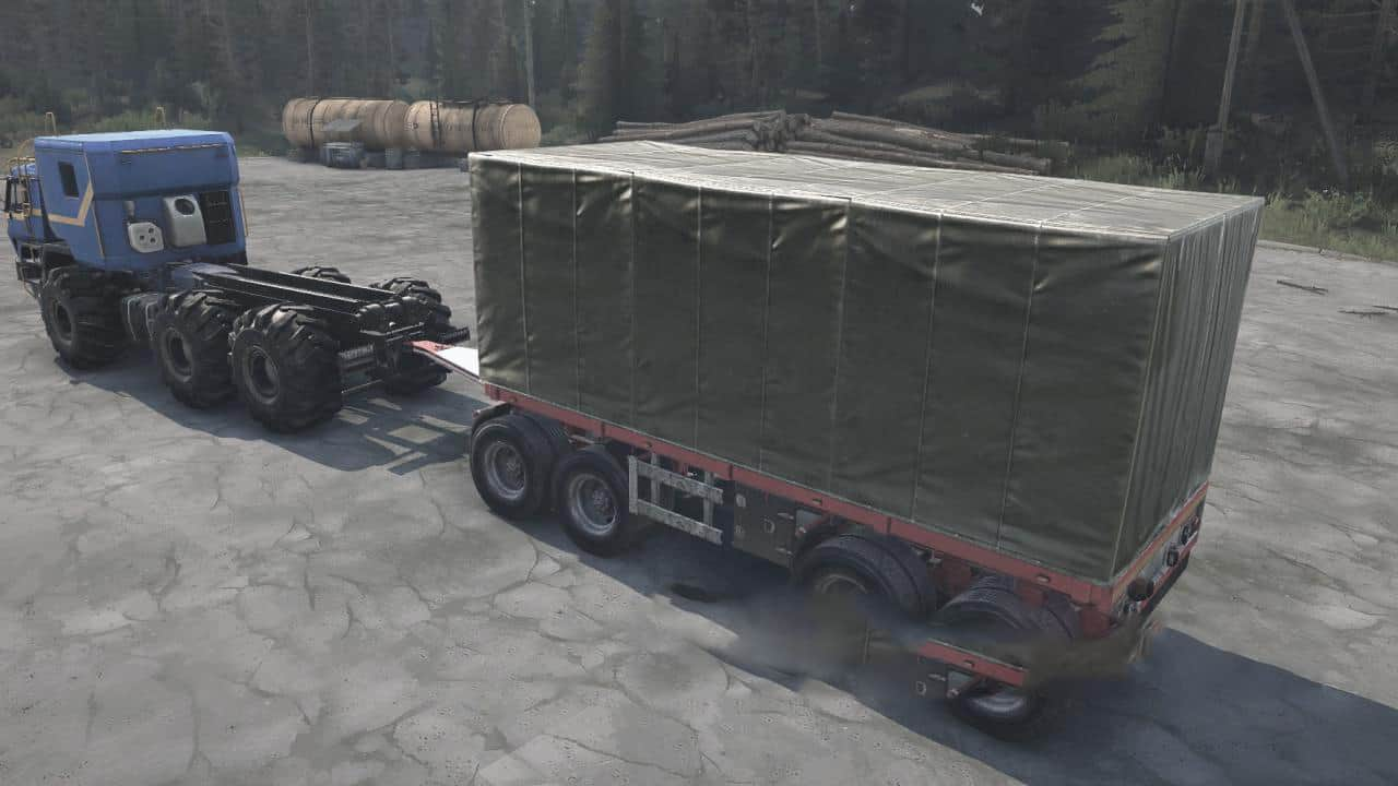 Spintires:Mudrunner - Trailer Pack from SnowRunner V26.08.20