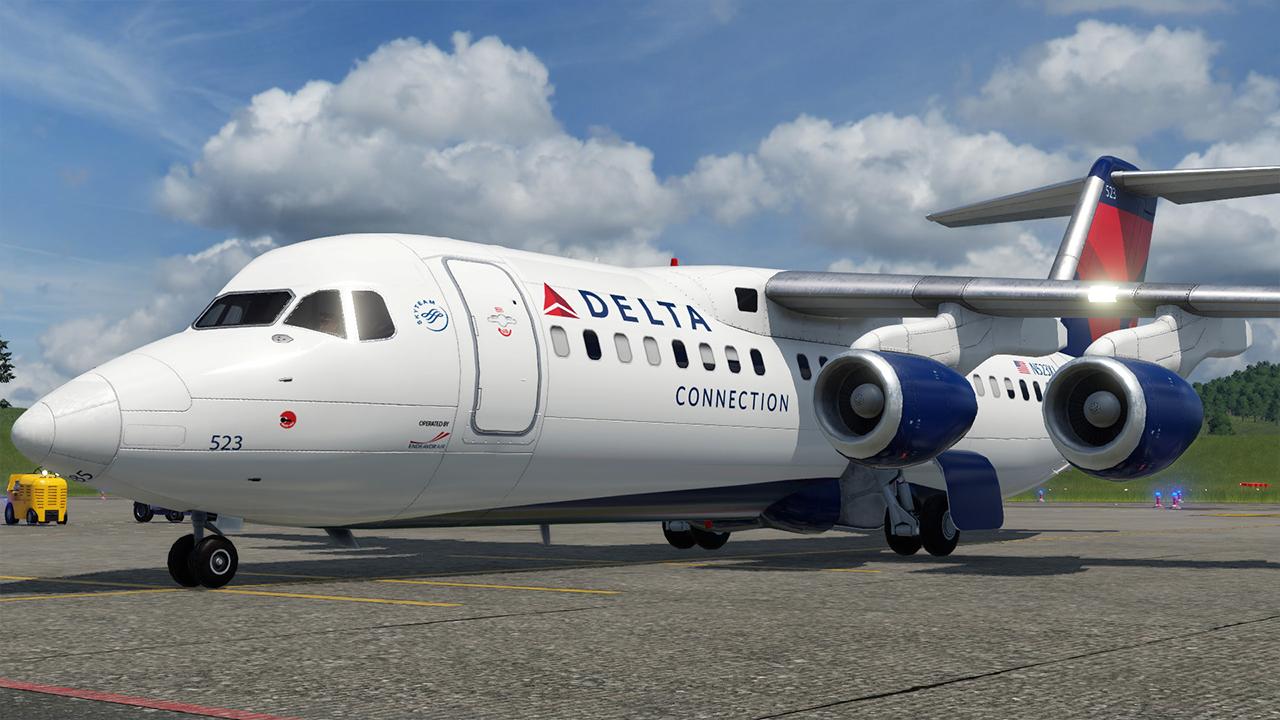 Transport Fever 2 - Delta Connection (Endeavor Air) RJ85