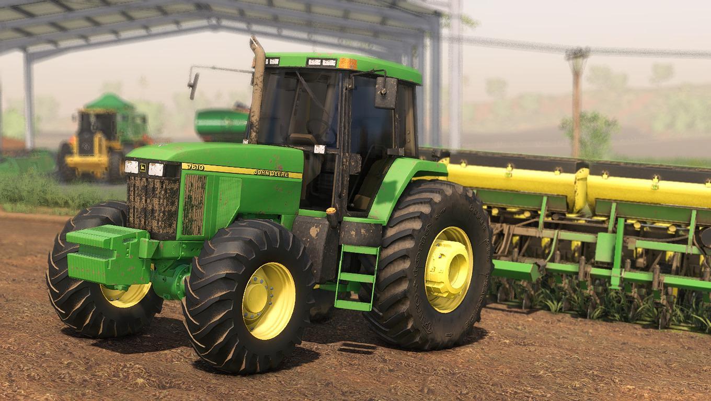 FS19 - John Deere 7810 Tractor V1.0