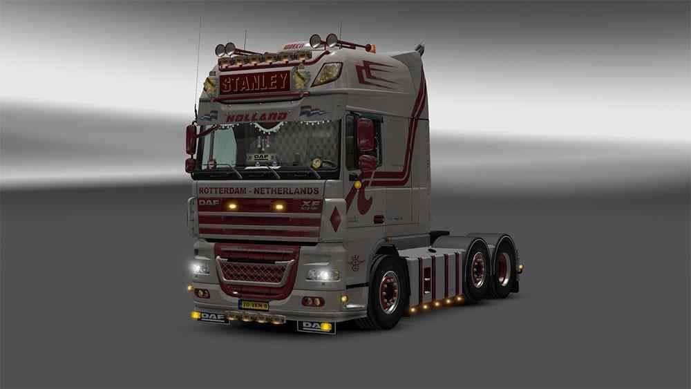 ETS2 - Daf XF 105 Truck V1.4 (1.36.x)