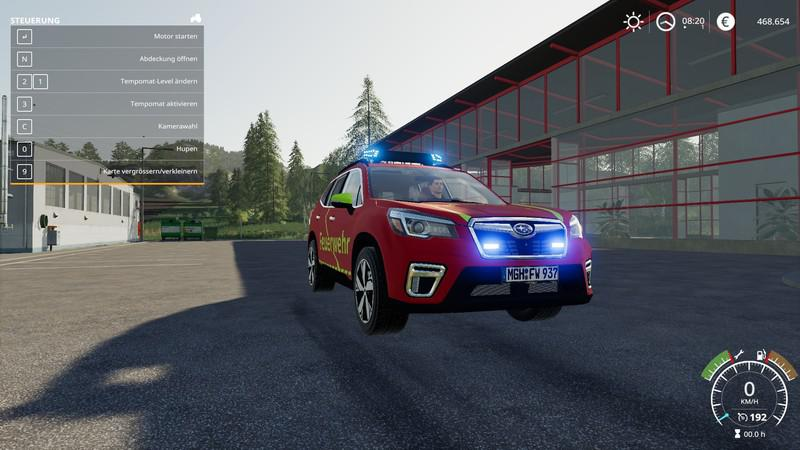 FS19 - Subaru Forester Kdow V1.0