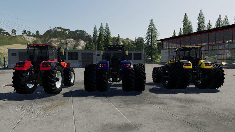 FS19 - Belarus 3522 Tractor V1.0