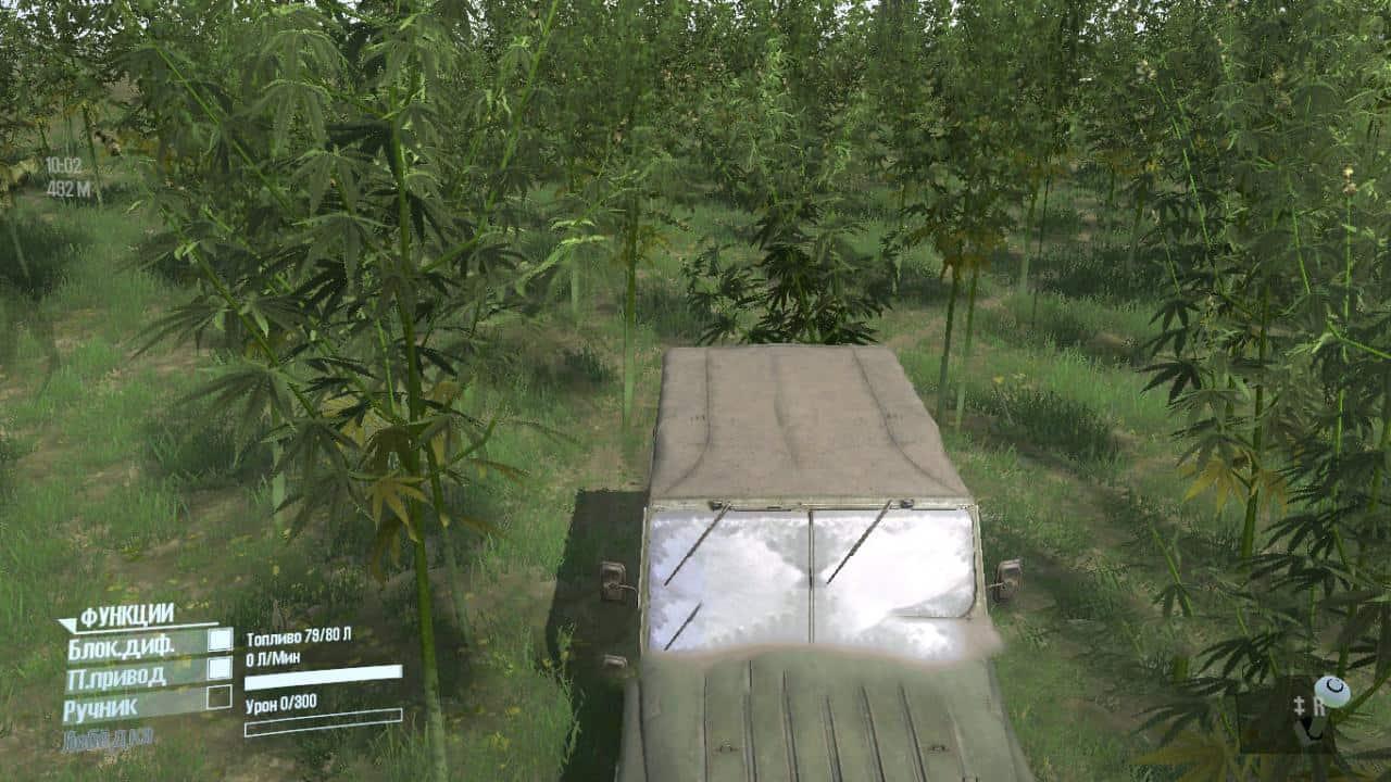 Spintires:Mudrunner - Plant 01 V1