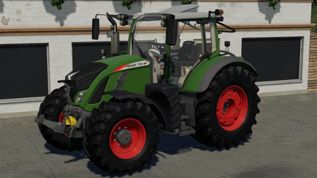 FS19 - Fendt Vario 700 Tractor V1.0