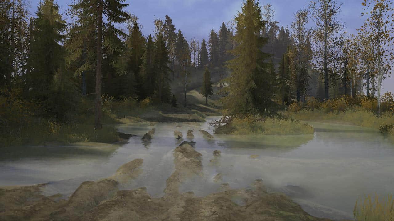 Spintires:Mudrunner - Beyond The Bugrom Map – Reworked Version Final