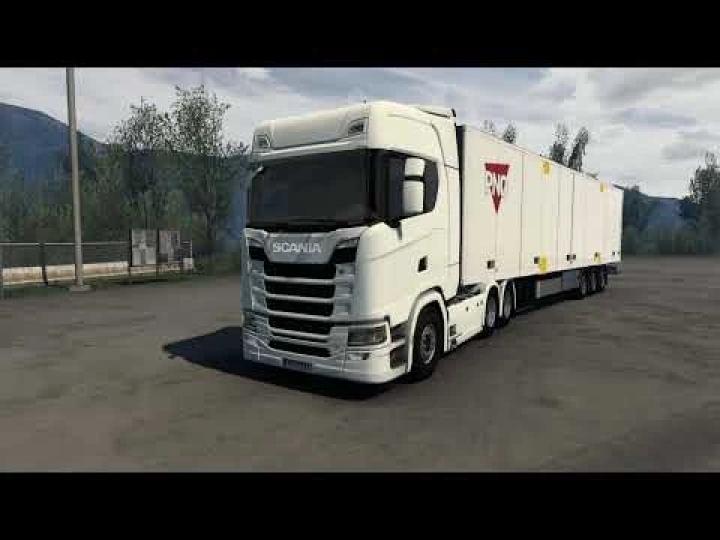 ETS2 - Scania Next Generation V8 Stock Sound V1.8 (1.41.x)