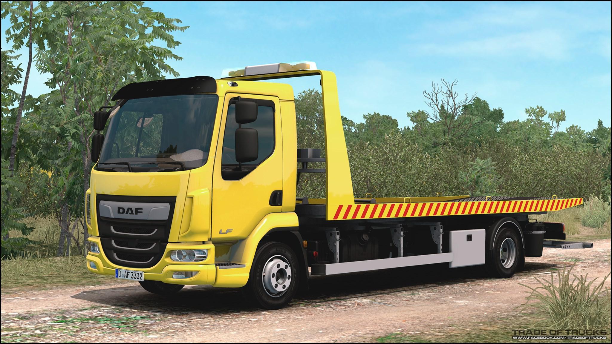 ETS2 - Daf LF Truck (1.35.x)