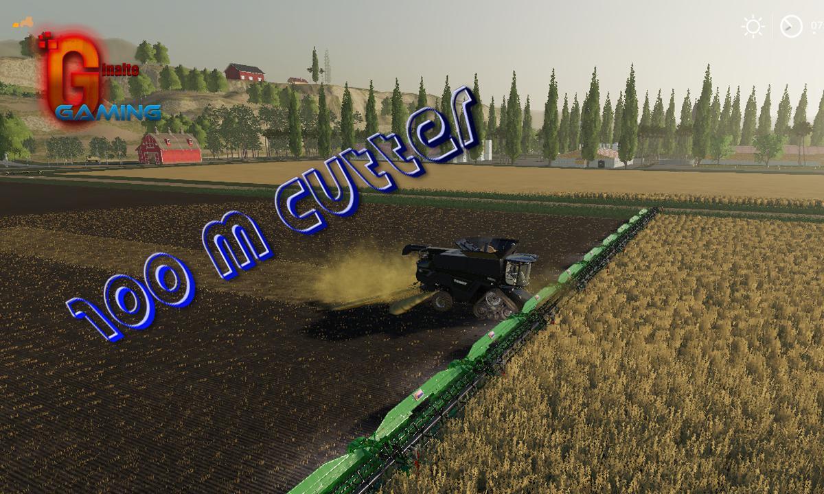 FS19 - Crazy Cutter 100 M V1.0