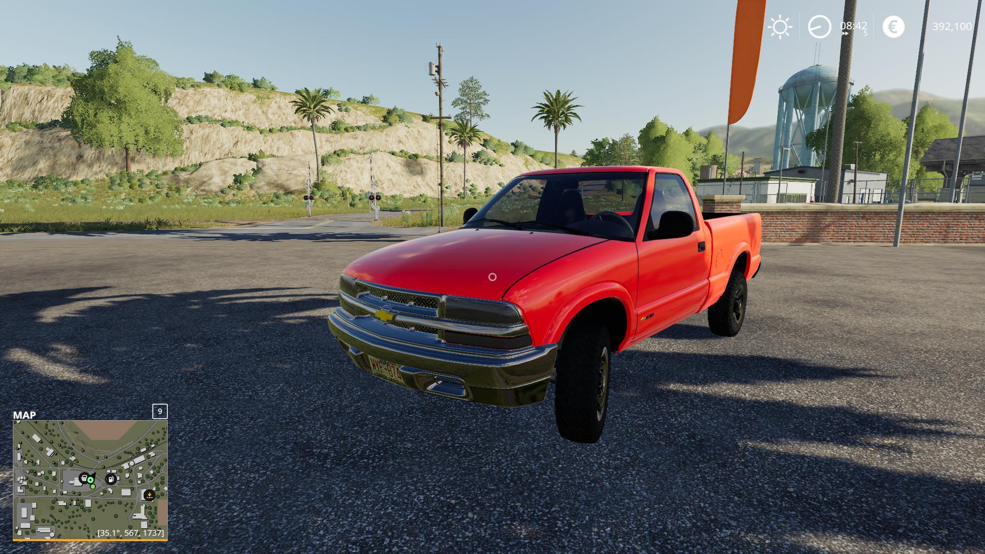 FS19 - Chevrolet S10 V1.0