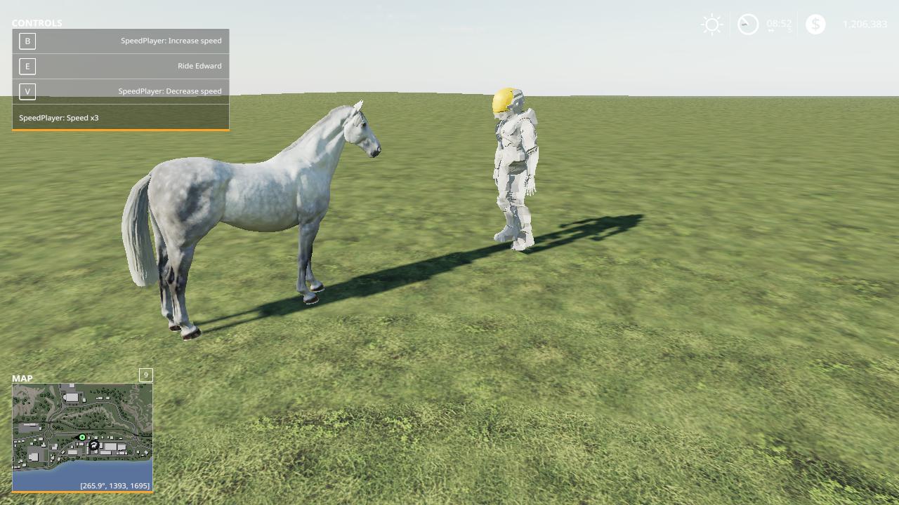 FS19 - Free Range Horses V1.0