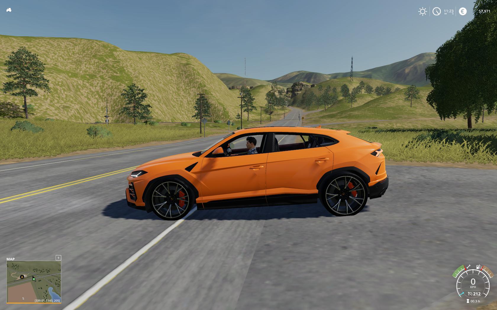 FS19 - Lamborghini Urus Car Mod V1.0