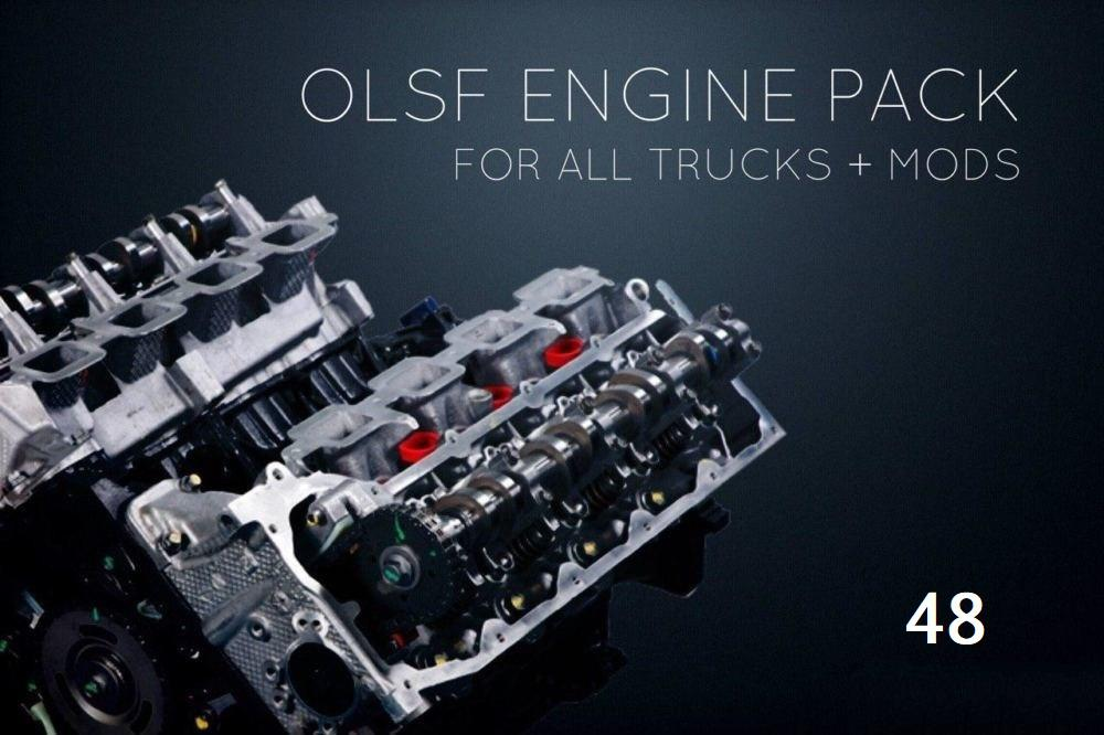 ETS2 - Engine Pack 48 for All Trucks (1.37.x)