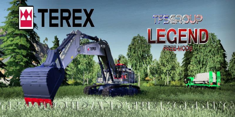 FS19 - Excavator Terex RH90F Dirth V1.5