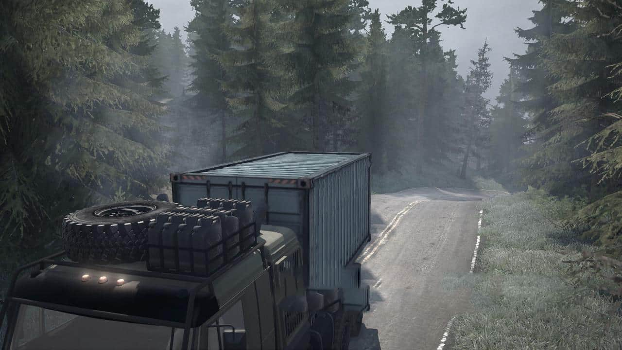 Spintires:Mudrunner - The First Map for This Version of The Game V1.0