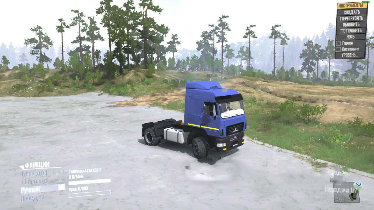 Spintires:Mudrunner - Maz-5440C9 Truck