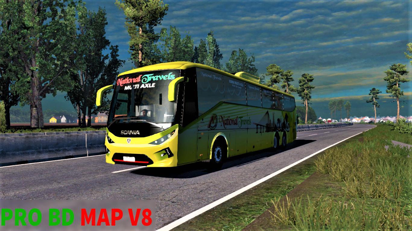 ETS2 - Pro BD Map v8 (1.35.X)