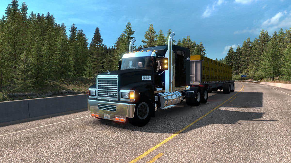 ATS - Mack CHU613 Truck (1.36.x)