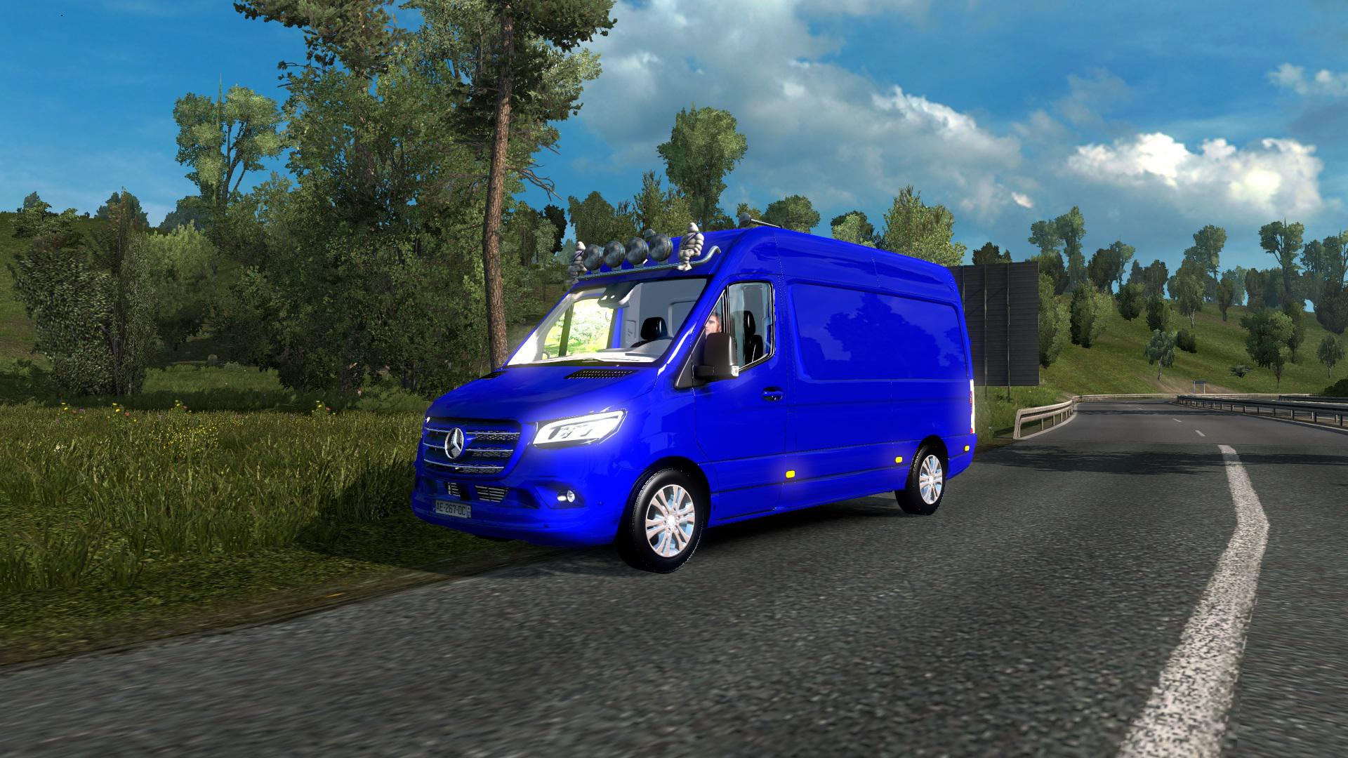 ETS2 - Mercedes Sprinter 2019 (1.36.x)