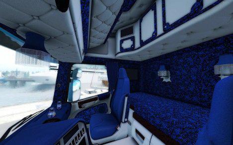 ETS2 - Scania Streamline Special Custom Interior Fixed Mirrors (1.36.x)