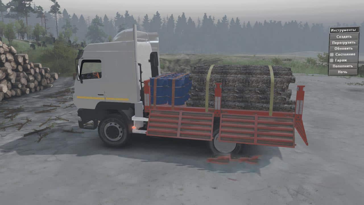 Spintires - Maz 5440 Truck V1