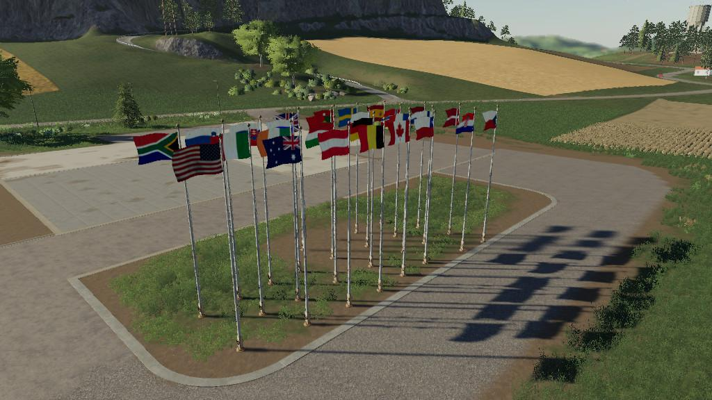 FS19 - International Flags V1.0