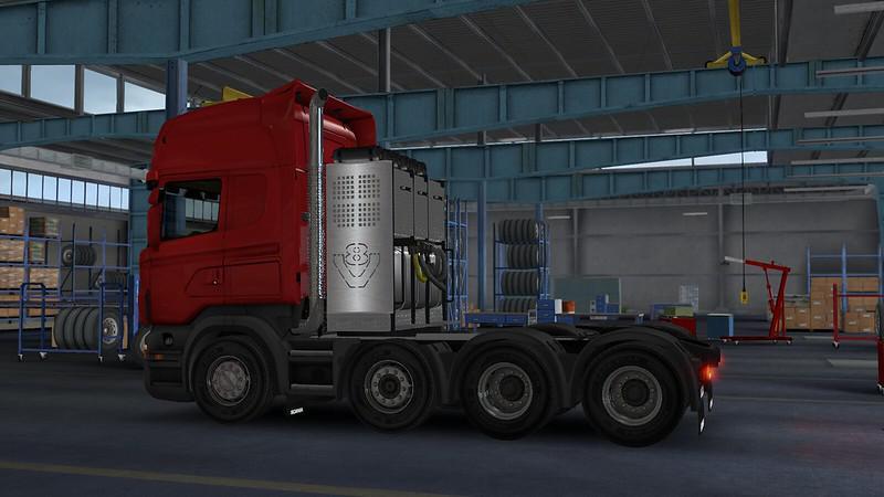 ETS2 - RJL Scania R & Streamline V2.2.5 (1.36.x)