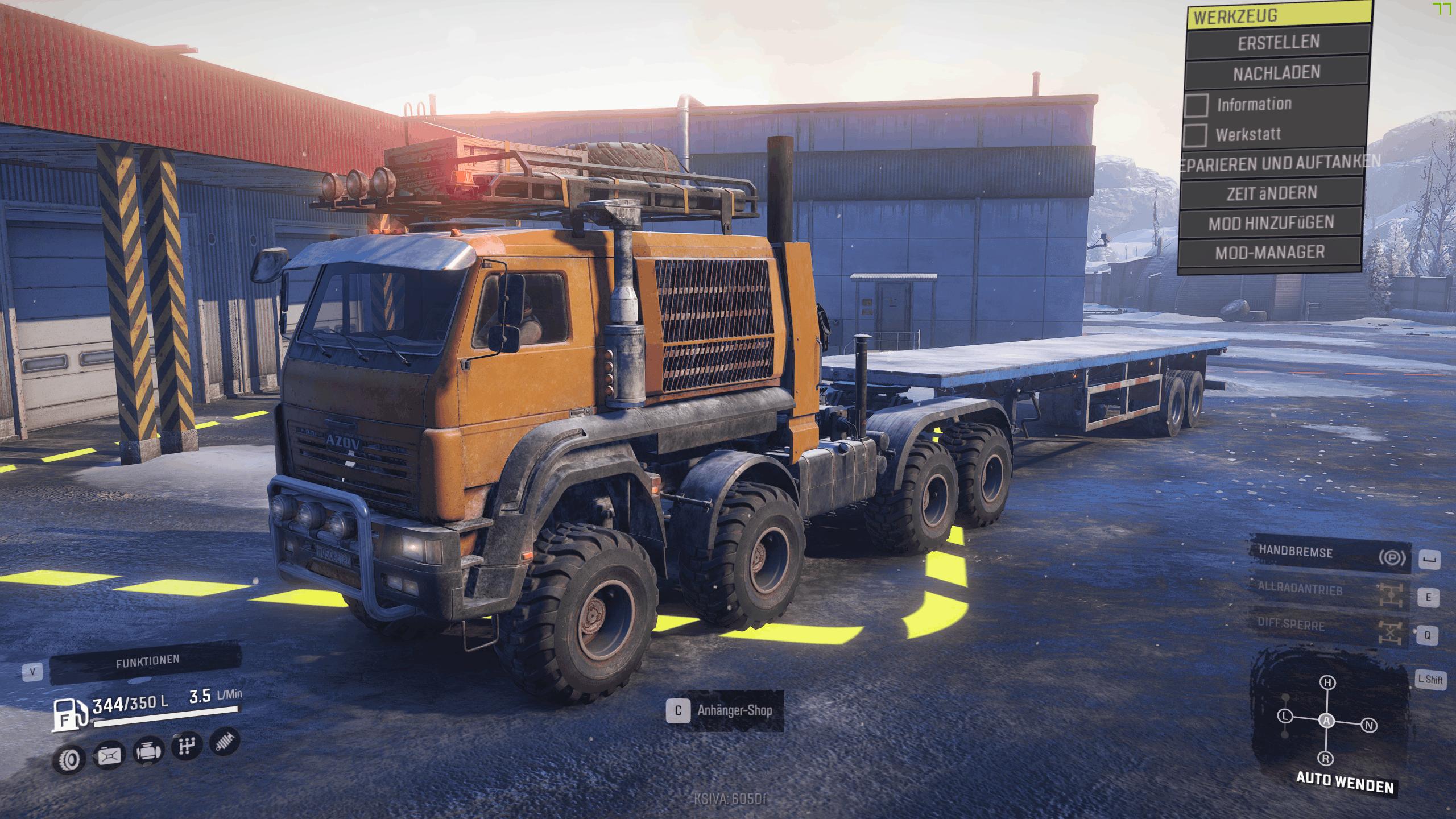 SnowRunner - Azov 64131 Tuning Truck V2.1