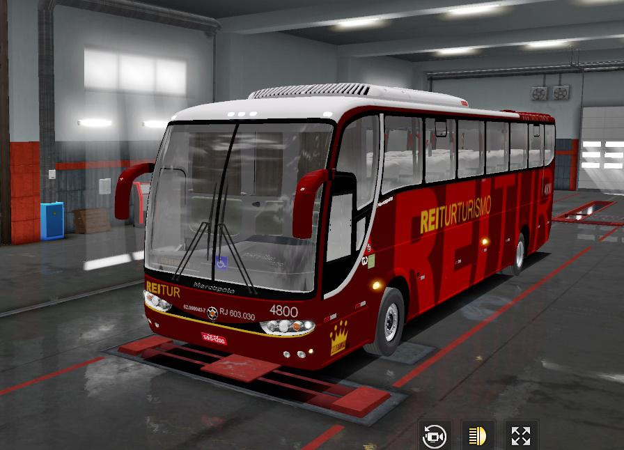 ETS2 - Marcopolo G6 1200 Toco Volvo Bus (1.36.x)
