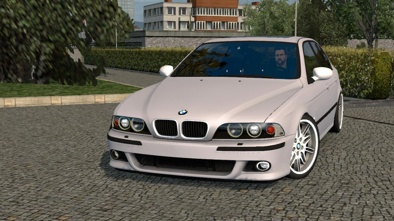 ETS2 - BMW M5 E39 V2R10 Car Mod (1.35.x)