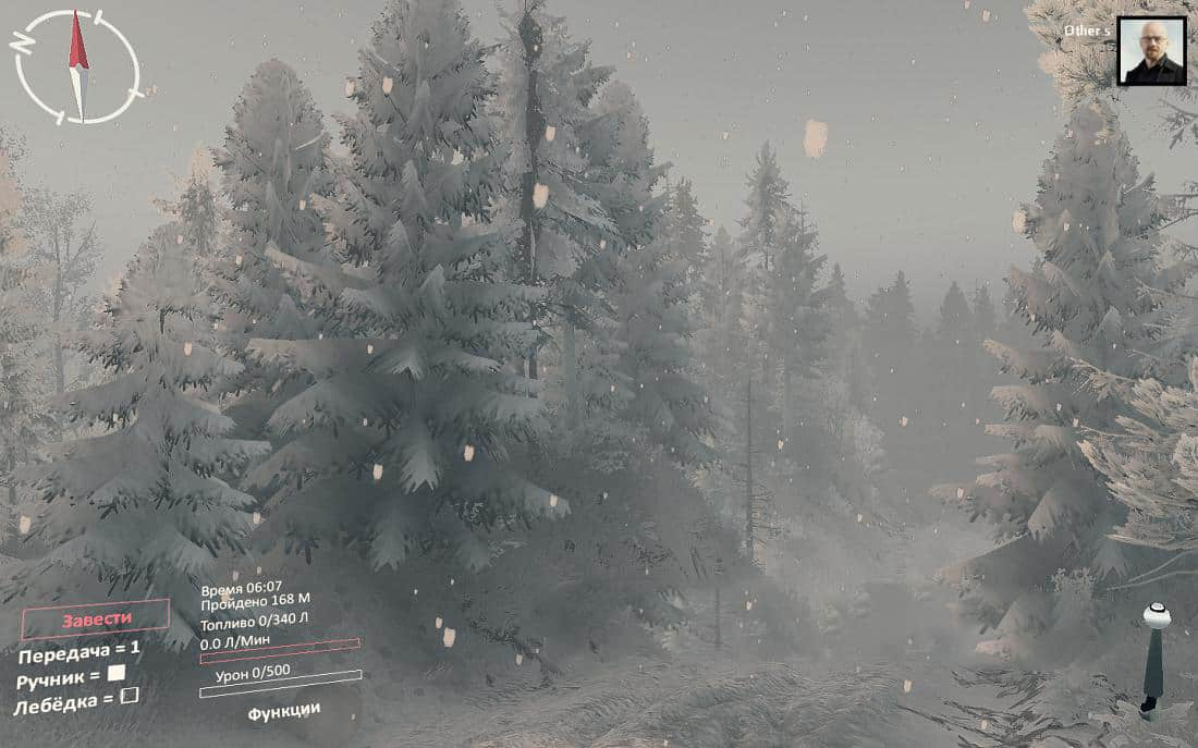 Spintires - Winter Mod V1.0 (V1.7.0)