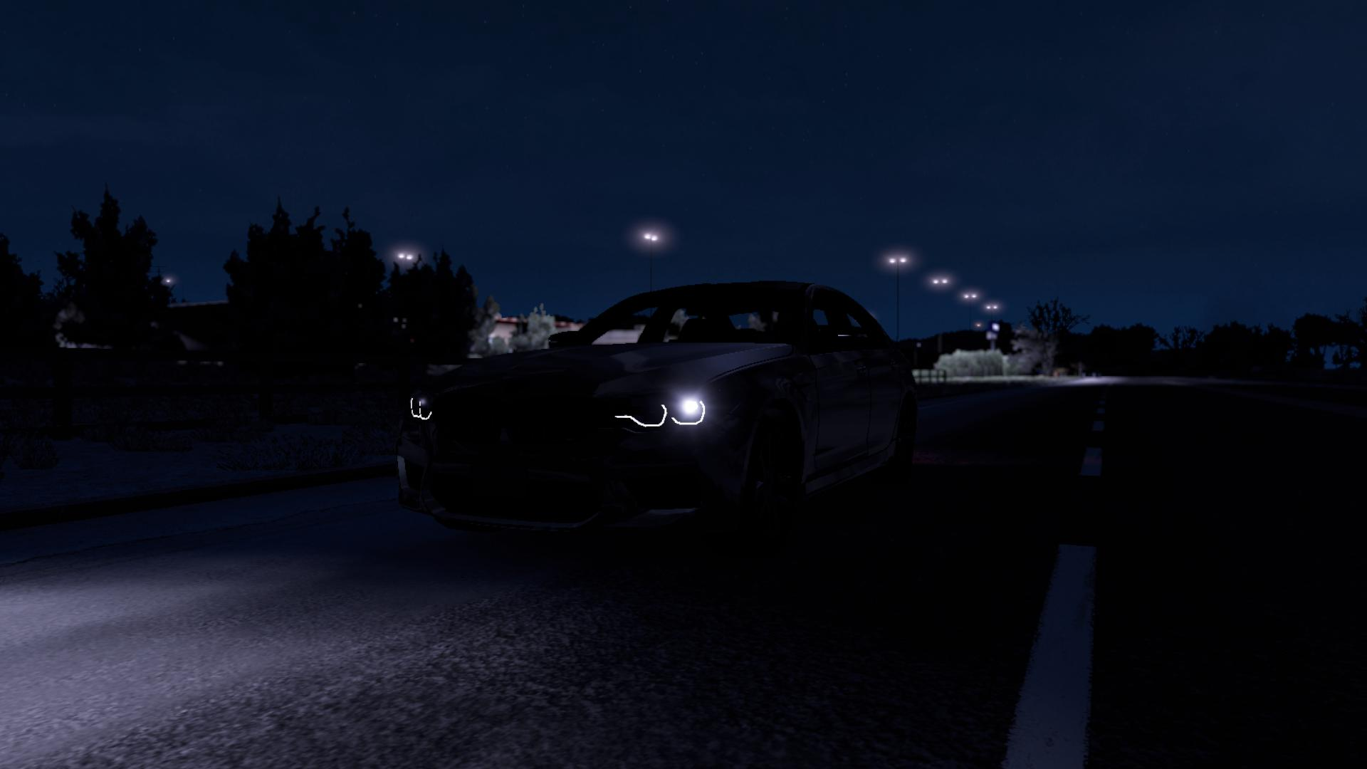 ATS - Bmw M5 F90 Car Mod (1.36.x)