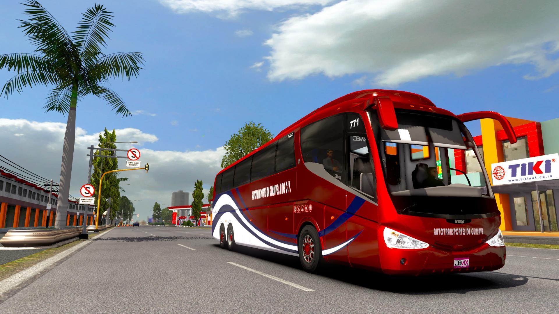 ETS2 - Irizar PB Volvo 6x2 Bus Mod (1.38.x)